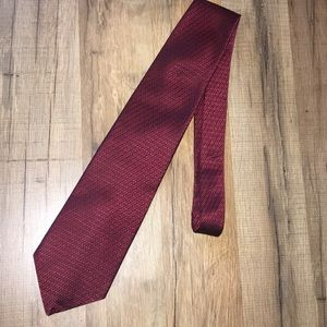 💥3/$25💥Geoffrey Beene Maroon Geometric Neck Tie